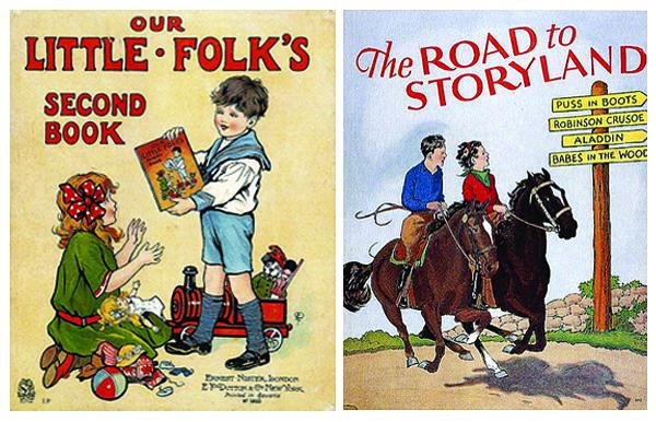 Vintage children art books | Vintage Children's Books | IdeaFixa | ilustração, design ...