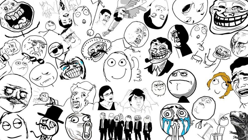 Lol Meme Face Anime Cowok Ganteng