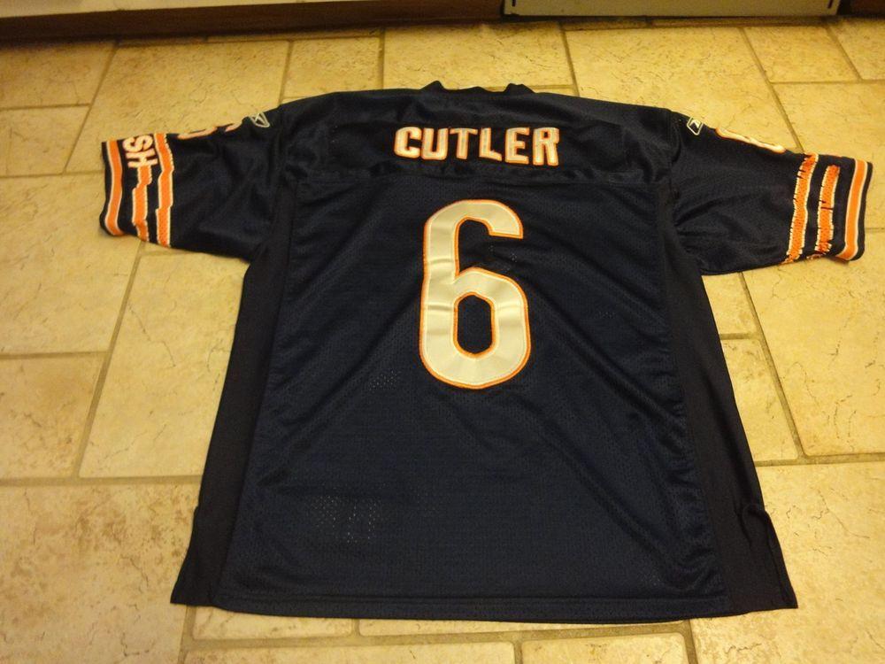 Reebok NFL Onfield Chicago Bears Jay Cutler  6 Sewn Football Jersey 48 Large    6.00 (0 Bids) End Date  Sunday Nov-18-2018 18 28 36 PST Buy… 08fdb1ec5