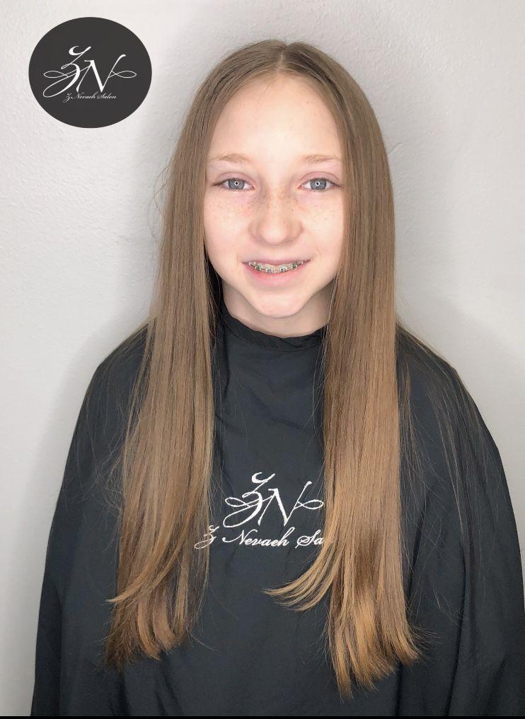 Kids Haircut Znevaehsalon Salon Knoxvilletn Znevaehsalon