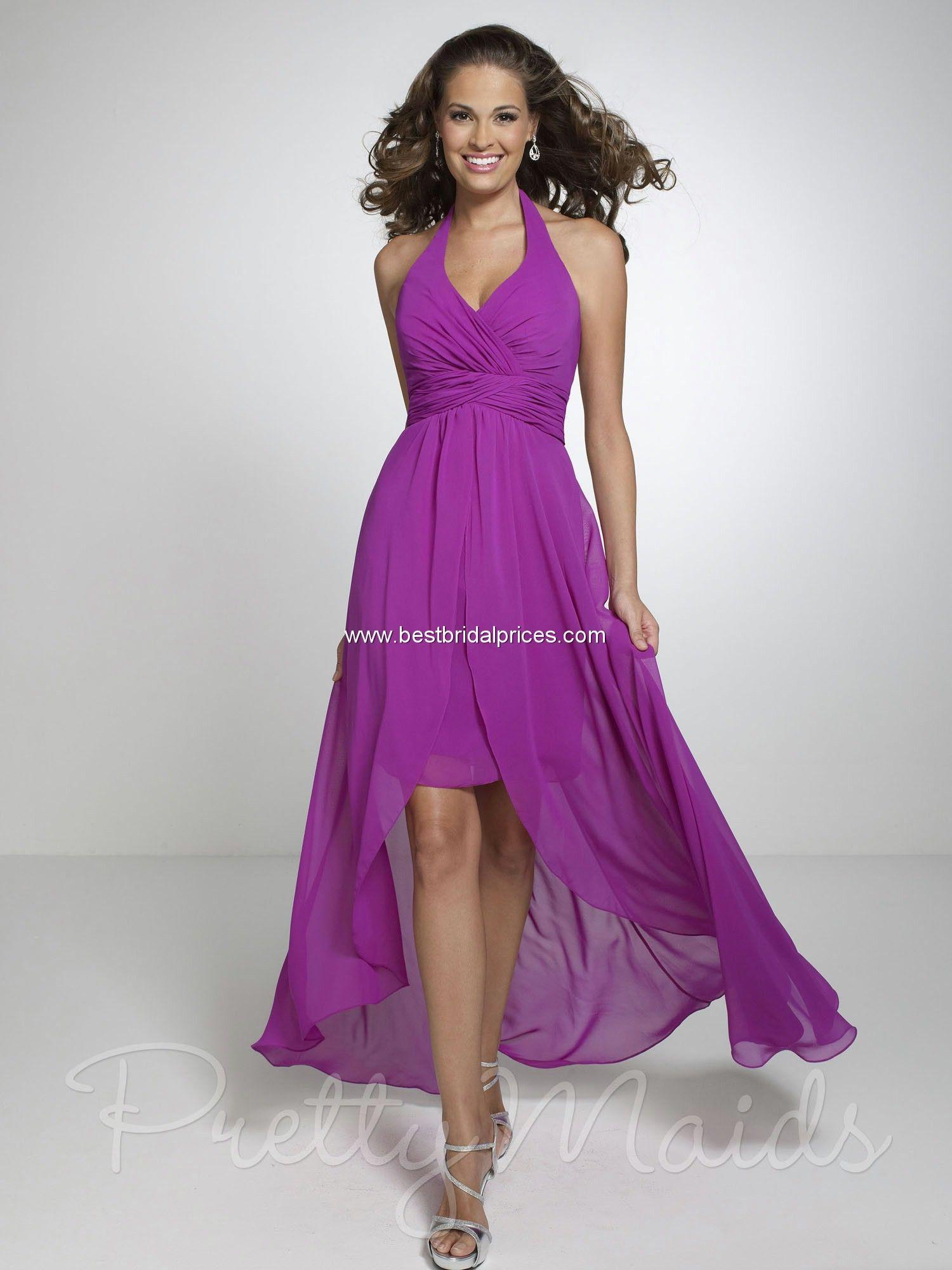 Hi low pretty maids bridesmaid dresses style weddings