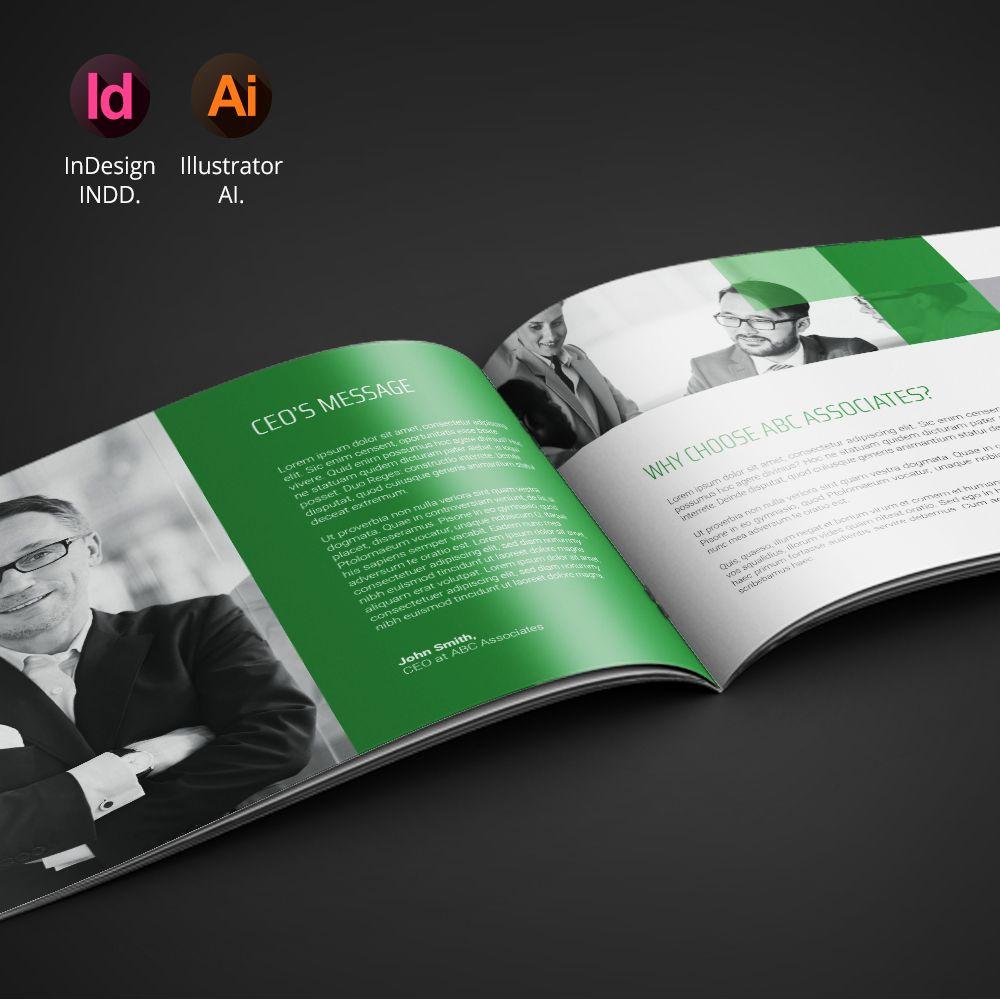 corporate landscape brochure vol 2 brochure template brochures