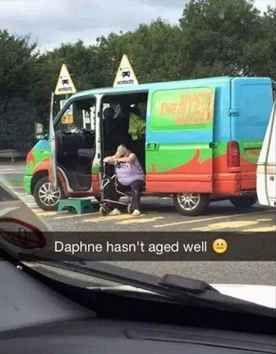 Daphne hasnt aged well