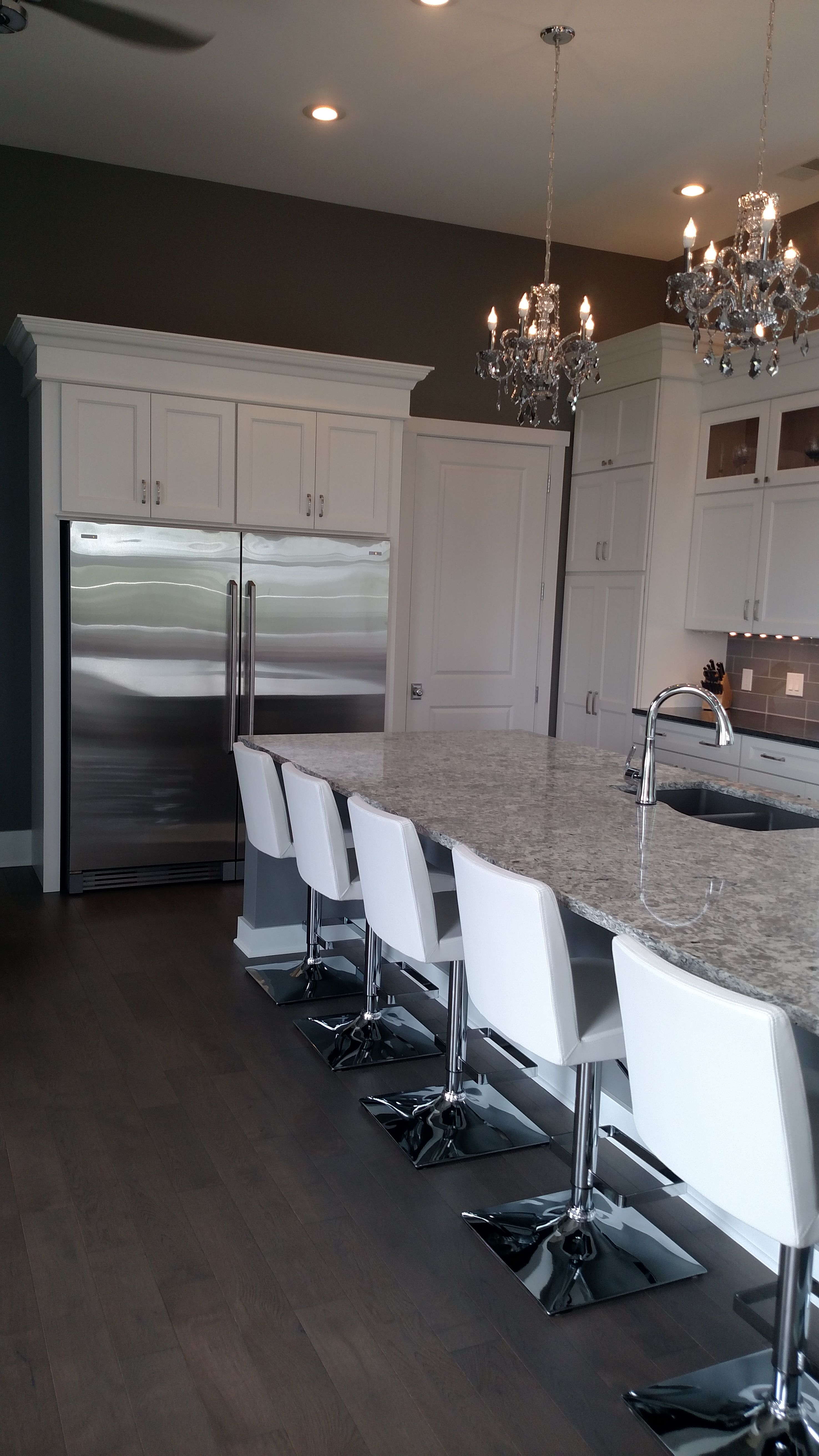 Richardson Job By Our Kitchen Specialist Casey Chamness Krivak! Finished  Kitchen, Gorgeous Kemper Choice · Spring ValleyCounter ...