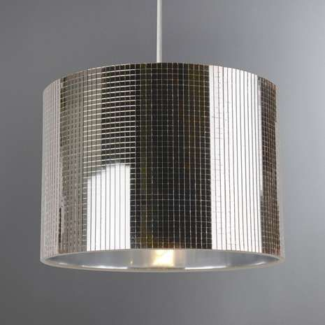 Featuring A Mirrored Gl Segment Effect This Champagne Finished Pendant Shade Comes In Disco Ball