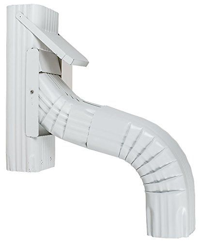 Slimline Downspout Diverter White 3x4 With Additional Style A Elbow Click Image To Review More Details Downspout Diverter Downspout Roofing