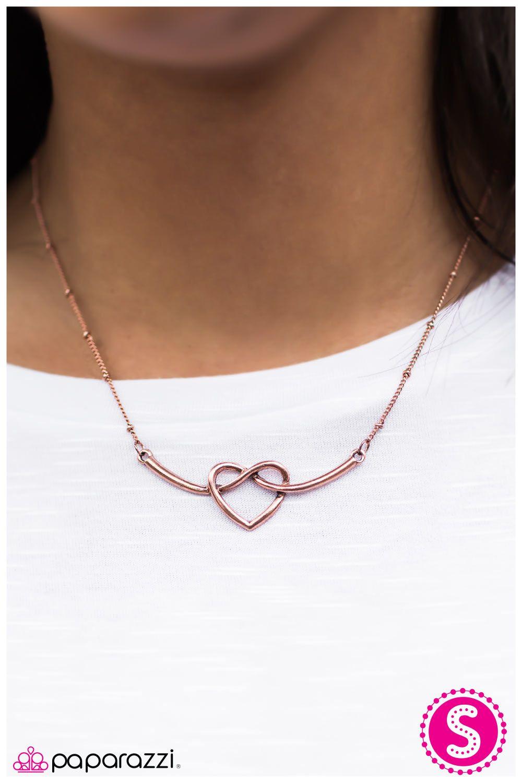Open Your Heart - Copper- $5.