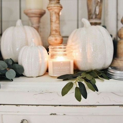 Fall Mantle Decor: 21 DIY and Ideas | Decor Dolphin #fallmantledecor