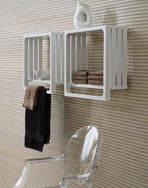 Radiador secatoallas de agua caliente el ctrico - Radiador electrico bano ...