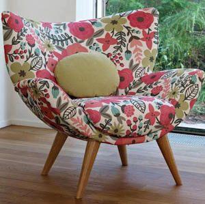 Tela de flores sarawak color tutti frutti fabric - Telas tapizar sillas ...