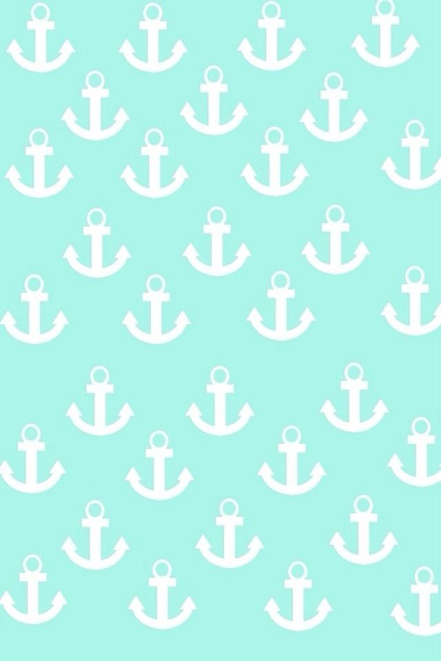 Cute Floral Laptop Wallpapers Anchor Mint Green Cute Phone Wallpaper Cute Tumblr