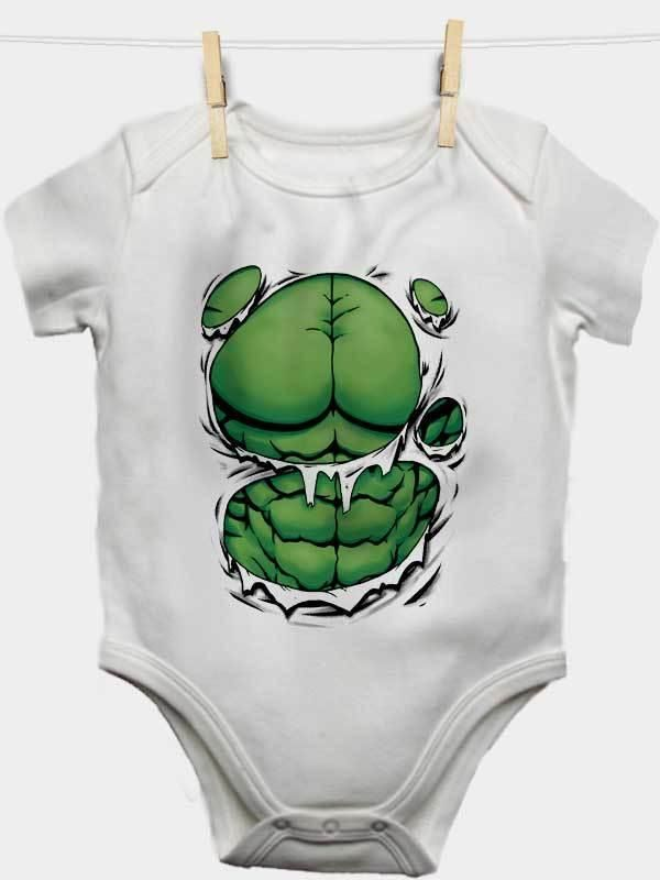 Hulk The Greenman Marvel Baby Bodysuit Baby Showers Baby T