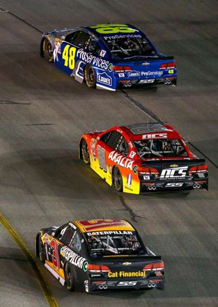 Check out all of the best action from Saturday night's Federated Auto Parts 400 at Richmond International Raceway.