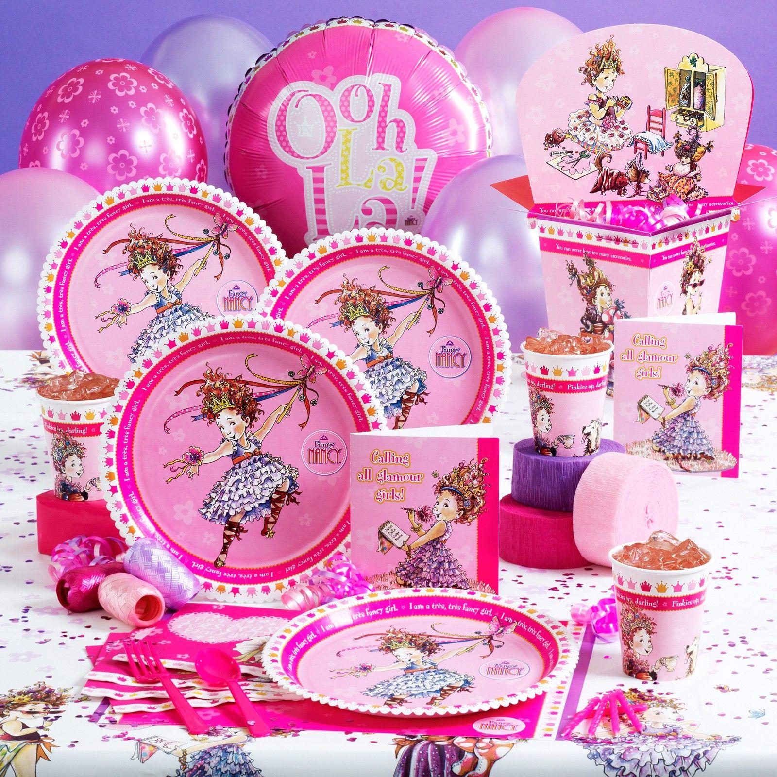 Fancy Nancy Birthday Party Supplies ... LOVE! | Fancy Nancy birthday ...
