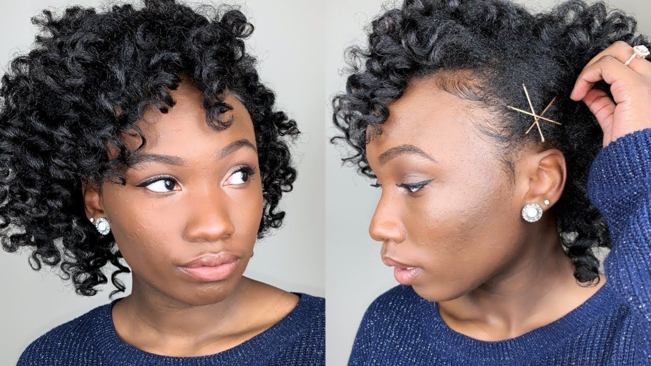 no heat wand curls on natural or transitioning hair