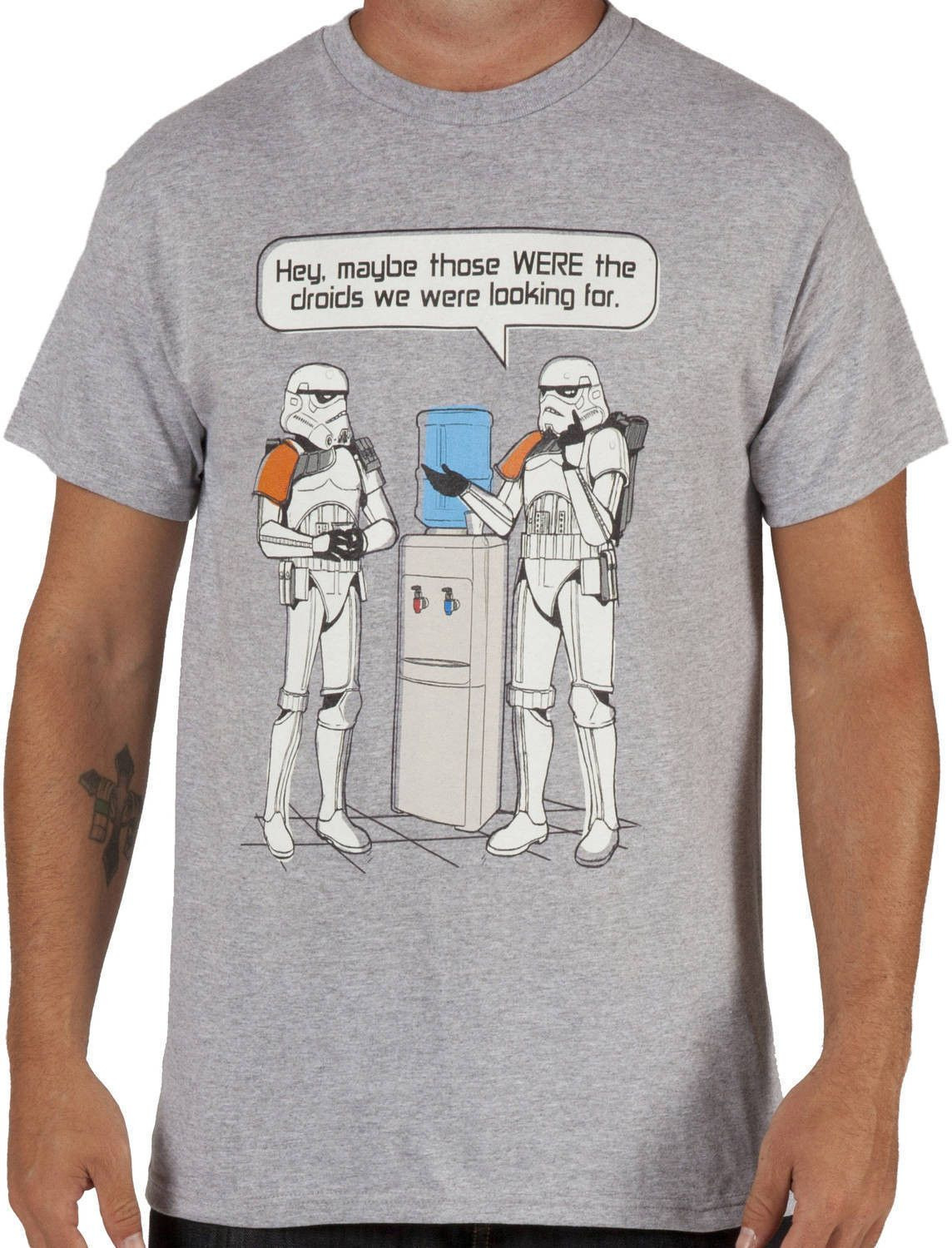 88a65a72 Star Wars Stormtroopers Watercooler Shirt - Hey, Maybe those were the  droids we were looking for.