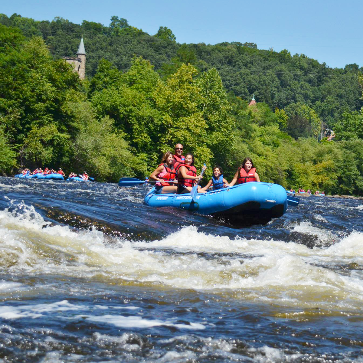 Raft In The Poconos This Summer At Pocono Whitewater Adventures