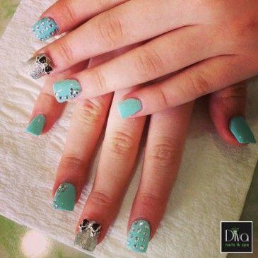 3d Nails Design Diva Nails Spa Pinterest 3d Nail Designs
