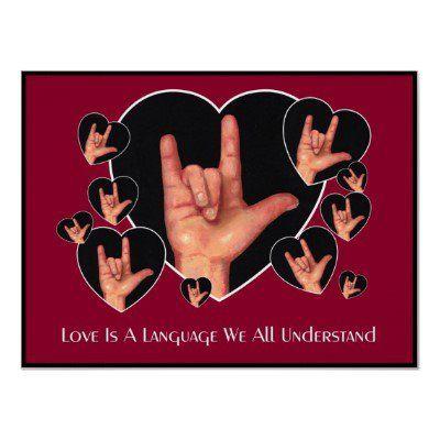 Sign language  LOVE. En el lenguaje de señas  AMOR  5b6cfb8c58c44