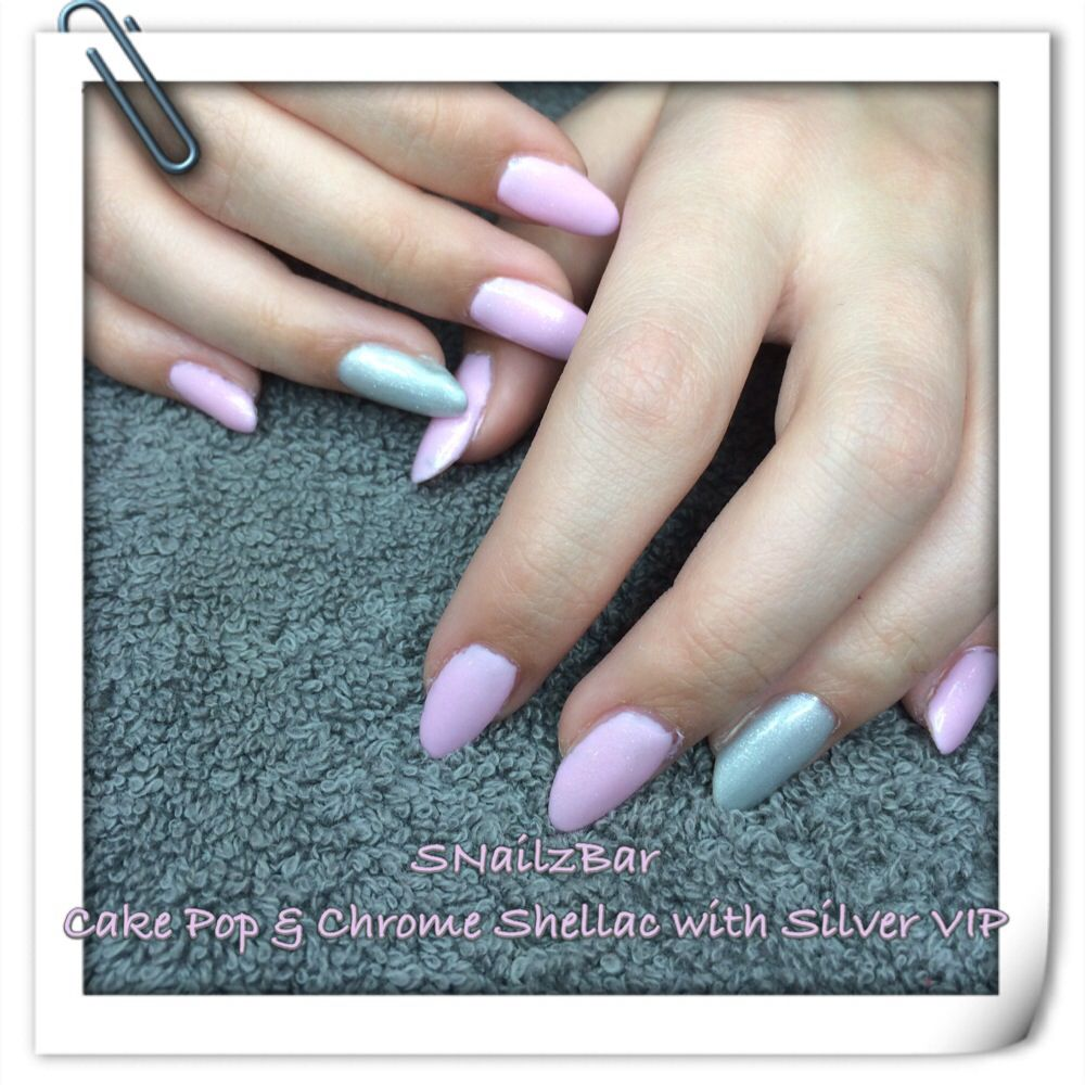 Naturally long nails painted with shellac | beauty | Pinterest
