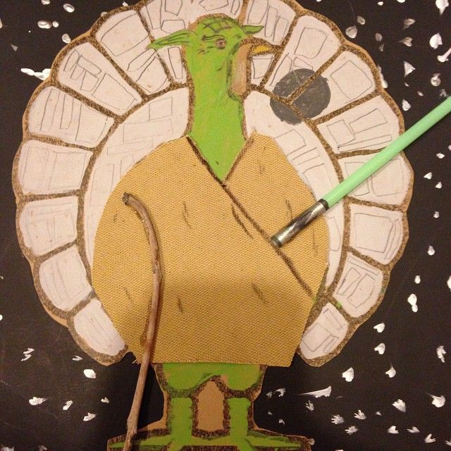 Lily's original turkey disguise! Master Yoda #turkeydisguiseprojectideaskid Lily's original turkey disguise! Master Yoda #howtodisguiseyourself