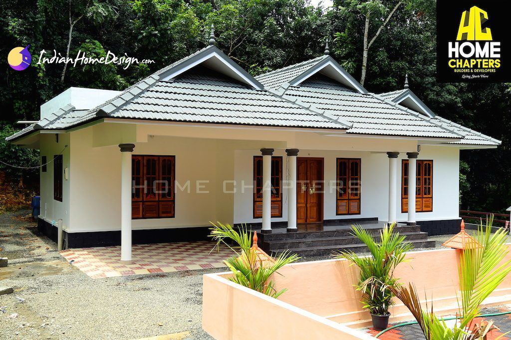 About The Home Design This Beautiful Sloping Roof Kerala Is Done By Chapters From Kottayam KeralaThe Features Of Are Bed Rooms