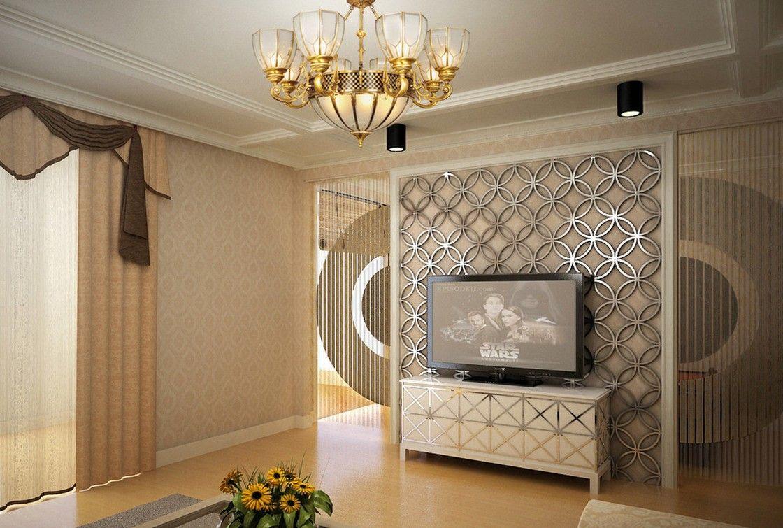 3d tv wall interior design rendering | tv | pinterest | tv walls