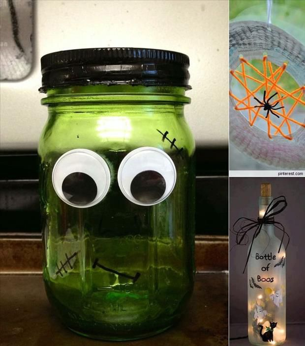 Halloween Bottles and Jars halloween diy halloween halloween craft - halloween crafts decorations