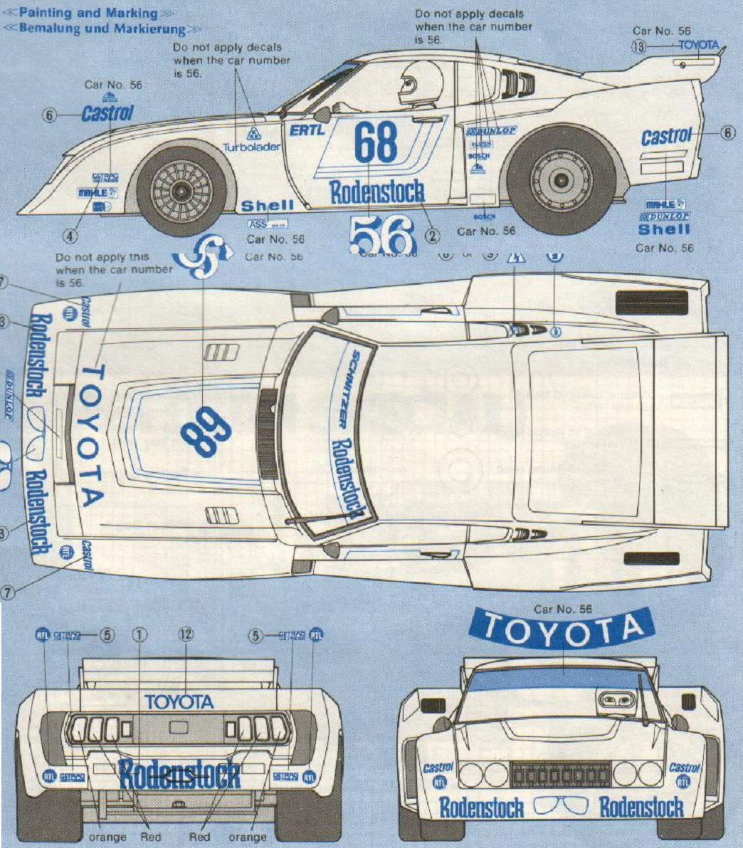 Toyota Celica Lb Turbo Group 5