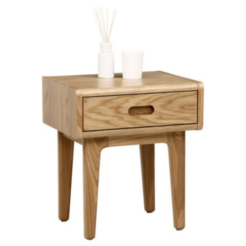 Buy stockholm bedside table solid oak from our bedside chests buy stockholm bedside table solid oak from our bedside chests tables range tesco watchthetrailerfo