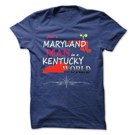 Maryland Man In A Kentucky World.  - #harry potter sweatshirt #sweatshirt quotes. GET IT NOW => https://www.sunfrog.com/States/Maryland-Man-In-A-Kentucky-World-.html?68278