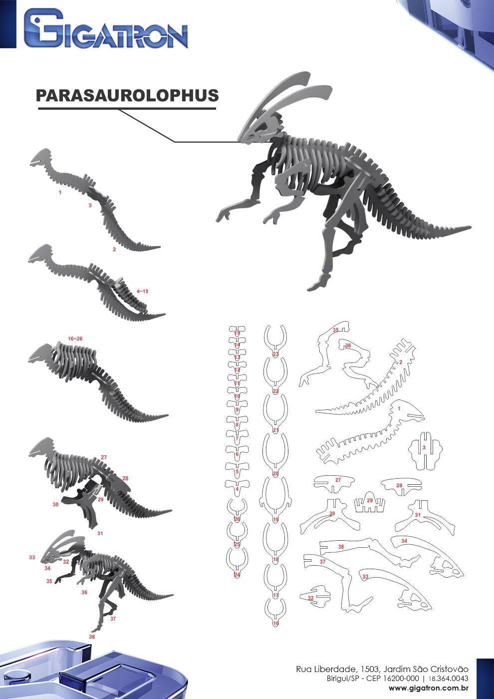20D Puzzle Creation on Behance   20d puzzle model, 20d dinosaur ...