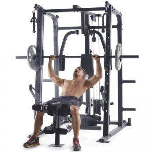 proform weider pro 8500 smith cage  home gym no