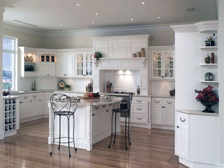 cucina shabby chic in stile provenzale - romantico n.14 | cucine ... - Cucina Soggiorno Stile Provenzale 2