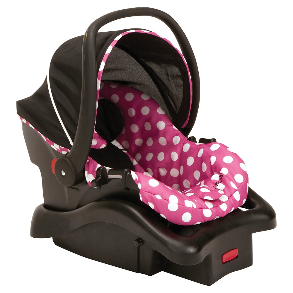 Disney Mickey Mouse Light 'N Comfy Luxe Infant Car Seat