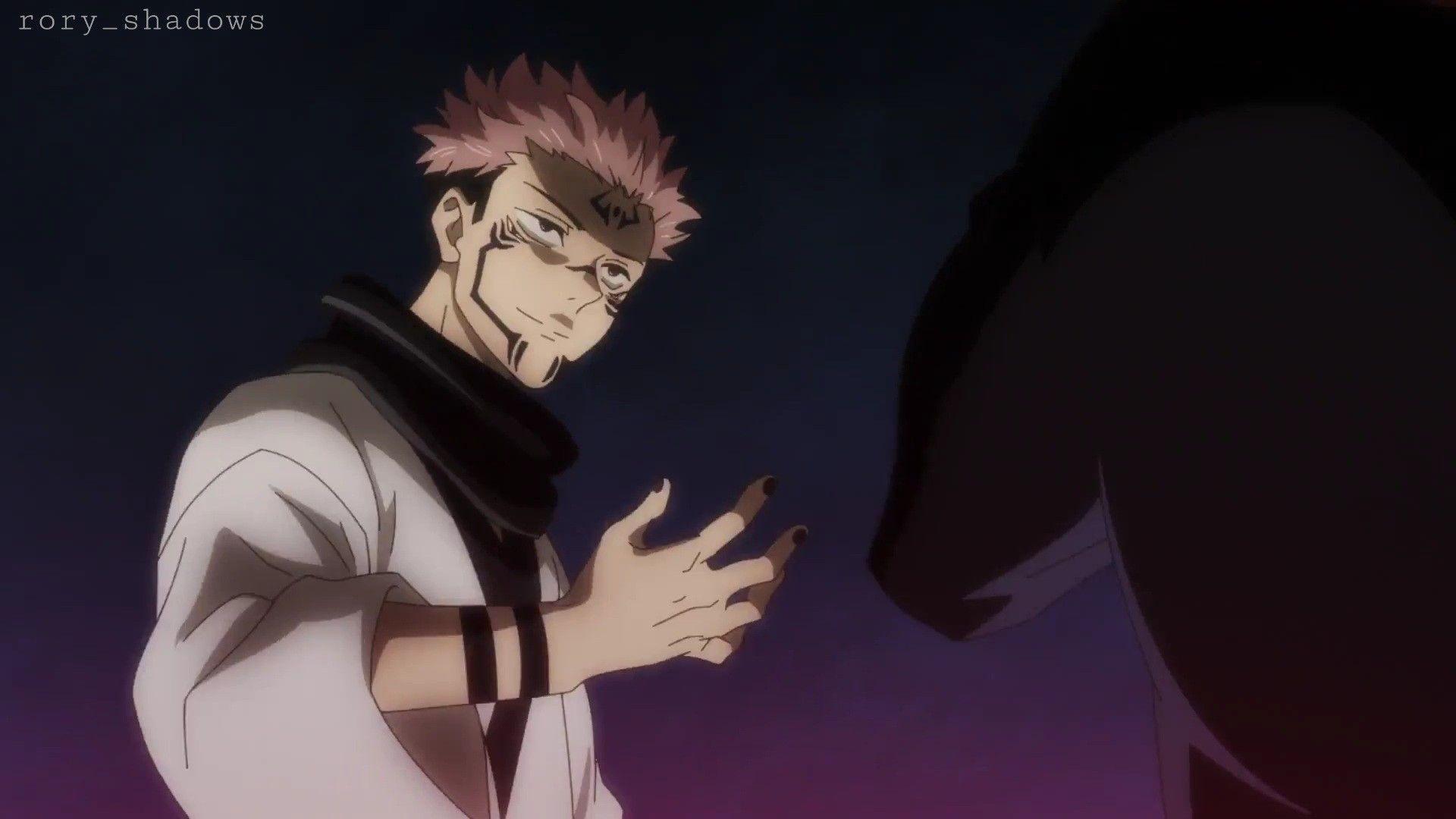 Sukuna Jujutsu Anime Anime Boy