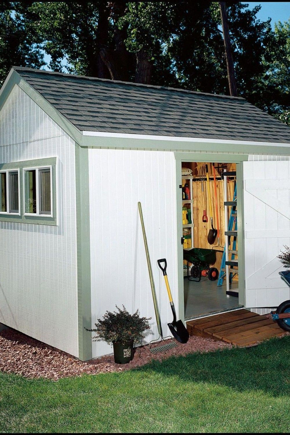 32 Inspirational Roof Ideas For Garden Shed Shed Roof Design Shed With Porch Shed Roof Repair