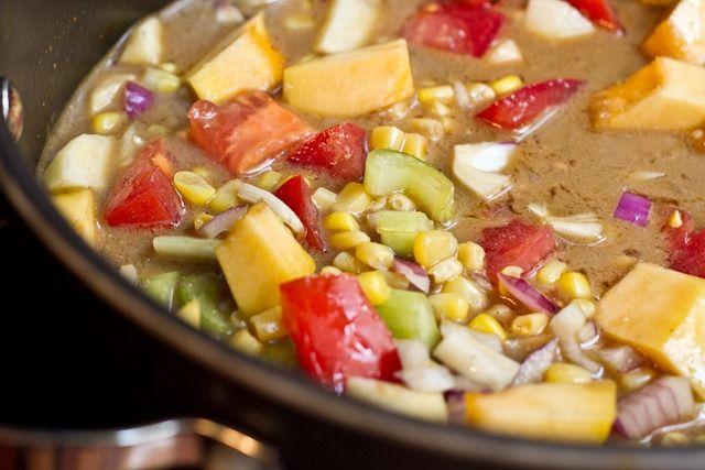 Blanket Stew - AKA Kitchen Sink Stew: clean out the veggie drawer ...