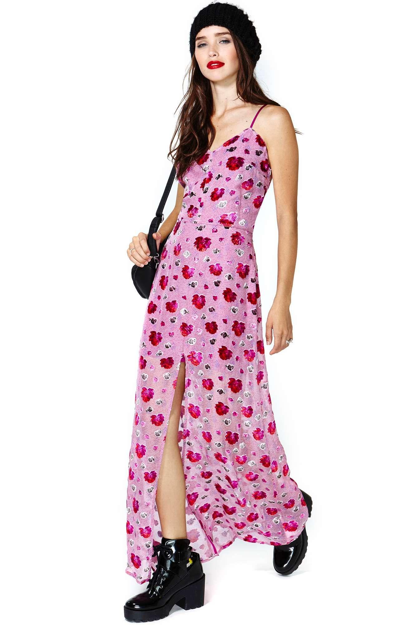 For Love & Lemons Rosita Maxi Dress | Shop Dresses at Nasty Gal ...