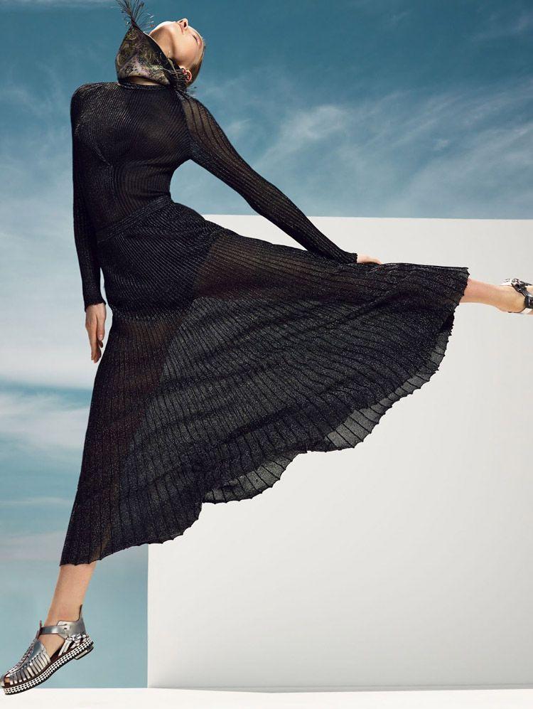 Sasha Luss for Vogue China June 2014 by Tom Van Dorpe