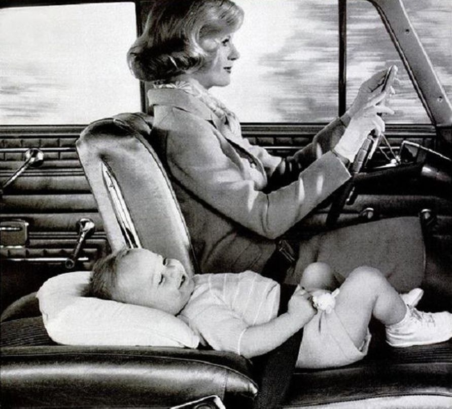 Baby car seat, 1962. | Totally Vintage | Pinterest | Baby cars, Car ...