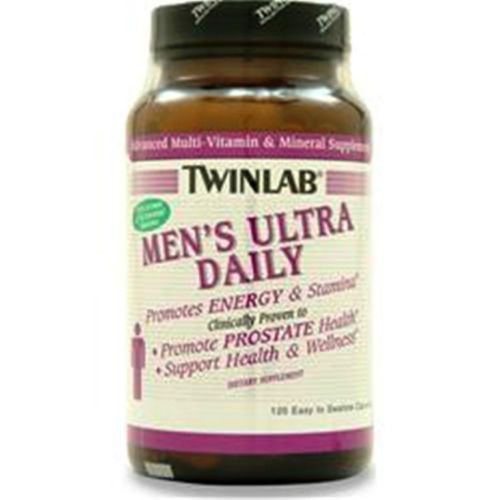 We Guaranty that you'll get Original Supplement o Money Back! Additional items ship free in low 48 usa states TWINLAB Men's Ultra Daily Lower Price 120 caps
