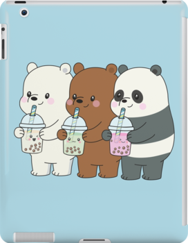 We Bare Bears Ipad Snap Case by plushism