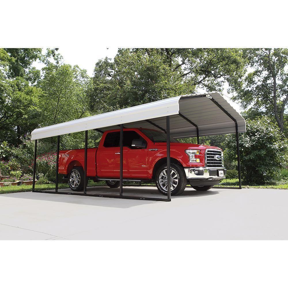 2,000W Grid Tied Solar Carport 12' x 20' Free Standing