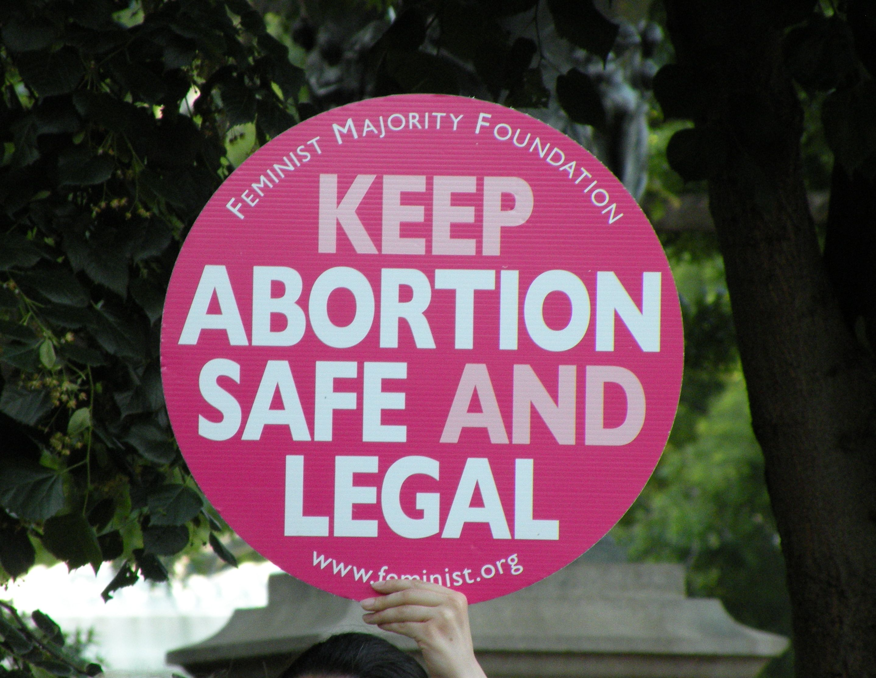 pro-choice signs | pro-choice sign, taken at a rally for ...