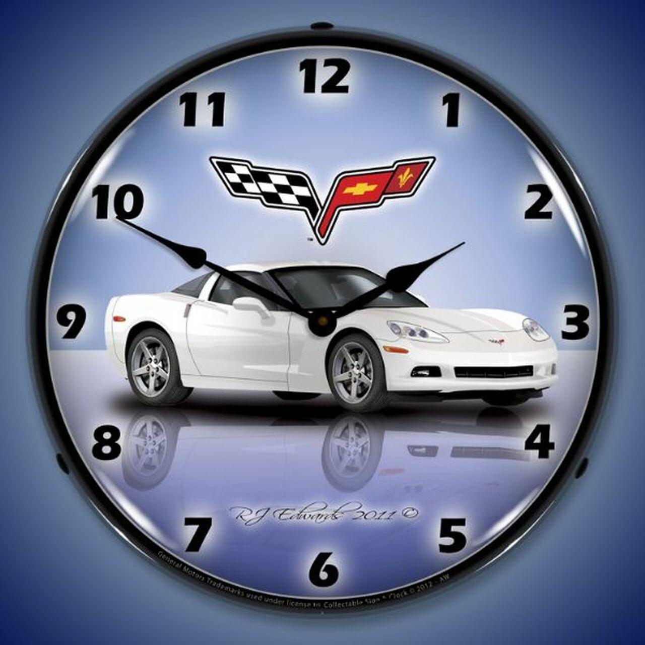 Pin On Corvette Clocks