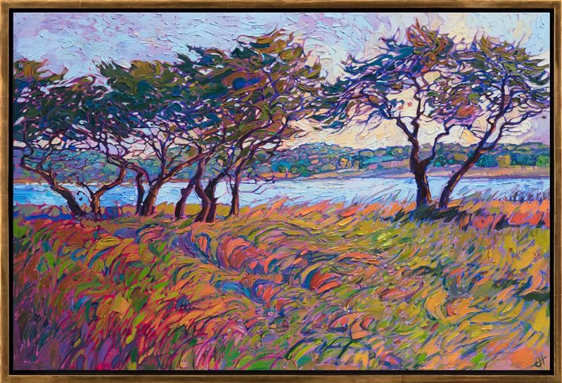 Grasses In Color Contemporary Impressionism Art Gallery In San Diego Modern Landscape Oil Paintings With Images Oil Painting Landscape Beautiful Paintings Erin Hanson