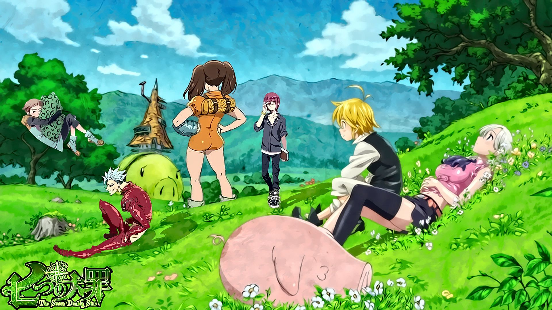 Seven Deadly Sins Anime Image By Clayton Milam On Seven Deadly