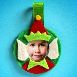 Happier Than A Pig In Mud: DIY Felt Elf-Yourself Ornament