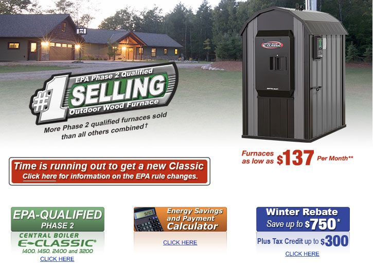 Central Boiler - Outdoor Wood Furnace for Home Heating | Home ...